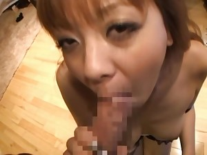 Rin hot Asian girl has cute special she shows gone