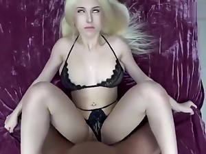 Step sister want to cum and i cum insinde