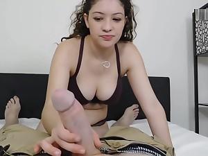 18 yo Teen Adora Black Sucks Cock
